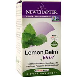 New Chapter Lemon Balm Force 30 vcaps