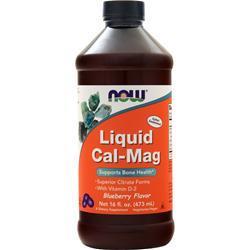 Now Liquid Cal-Mag Blueberry 16 fl.oz