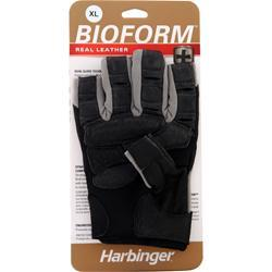 Harbinger Bioform Real Leather Glove Gray (XL) 2 glove