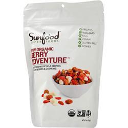 Sunfood Organic Snack Mix Berry Adventure 6 oz