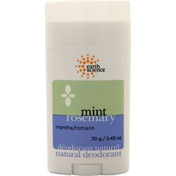 Earth Science Natural Deodorant Mint Rosemary 2.45 oz