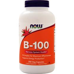 Now B-100 (High Potency B-Complex) 250 vcaps