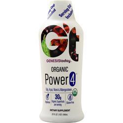 Genesis Today Power 4 - Organic Goji, Acai, Noni & Mangosteen Juice 32 fl.oz