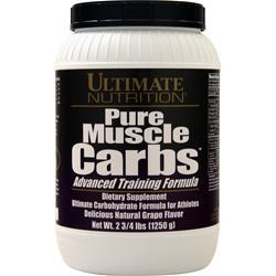 Ultimate Nutrition Pure Muscle Carbs Grape 2.75 lbs