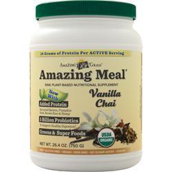 Amazing Grass Amazing Meal Vanilla Chai 26.4 oz