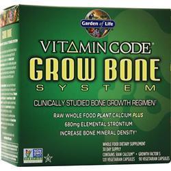 Garden Of Life Vitamin Code - Grow Bone System 1 kit