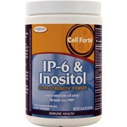 Enzymatic Therapy Cell Forte IP-6 & Inositol Ultra-Strength Powder Citrus 14.6 oz