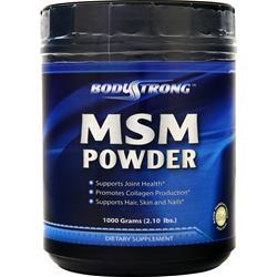 BodyStrong MSM Powder 1000 grams