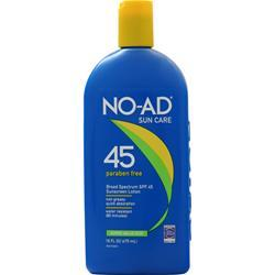 No-Ad Sunscreen Lotion SPF 45 16 fl.oz