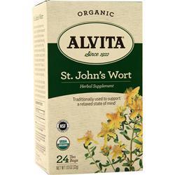 Alvita Tea Bags - Organic St. John's Wort 24 pckts