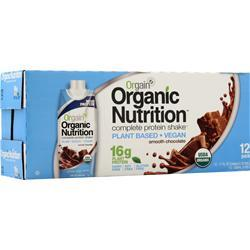 Orgain Orgain Vegan RTD Smooth Chocolate 12 pack