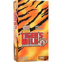 Tiger's Milk Tiger's Milk Bar Peanut Butter 24 bars