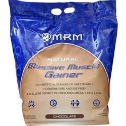 MRM Massive Muscle Gainer Chocolate 10 lbs