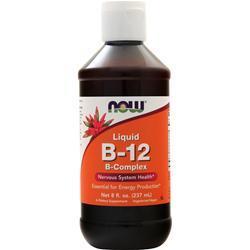 Now Liquid B-12 B-Complex 8 fl.oz