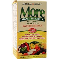 American Health More Than A Multiple - Multivitamin Formula 120 tabs