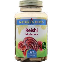 Nature's Herbs Reishi Mushroom 100 vcaps
