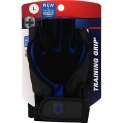 Harbinger Training Grip Glove Black/Blue (L) 2 glove