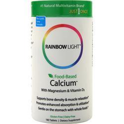 Rainbow Light Food-Based Calcium 180 tabs