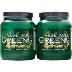 Ultimate Nutrition Vegetable Greens (Buy 1 Get 1 Free) Golden Maple 36 oz