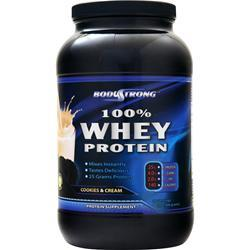 BodyStrong 100% Whey Protein Cookies & Cream 2 lbs