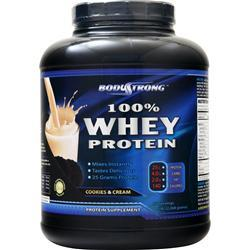 BodyStrong 100% Whey Protein Cookies & Cream 5 lbs