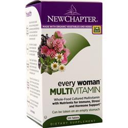 New Chapter Every Woman Multivitamin 120 tabs