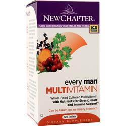 New Chapter Every Man Multivitamin 120 tabs