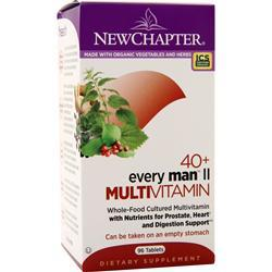 New Chapter 40+ Every Man II Multivitamin 96 tabs