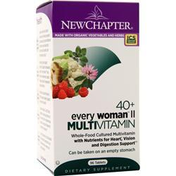 New Chapter 40+ Every Woman II Multivitamin 96 tabs