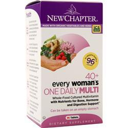 New Chapter 40+ Every Woman's One Daily Multi 96 tabs