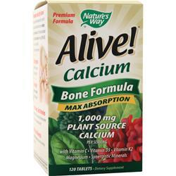 Nature's Way Alive Calcium - Bone Formula 120 tabs