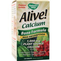 Nature's Way Alive Calcium - Bone Formula 120 tabs