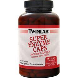 TwinLab Super Enzyme Caps 240 caps