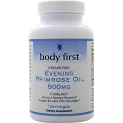 Body First Evening Primrose Oil (500mg) 120 sgels