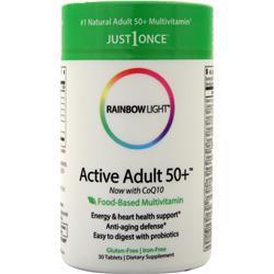 Rainbow Light Just Once - Active One Senior Multi 30 tabs