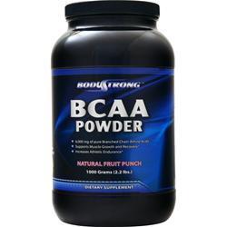 BodyStrong BCAA Powder Natural Fruit Punch 1000 grams