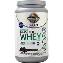 Garden Of Life Sport - Certified Grass Fed Whey Chocolate 23.7 oz