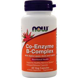 Now Co-Enzyme B-Complex 60 vcaps