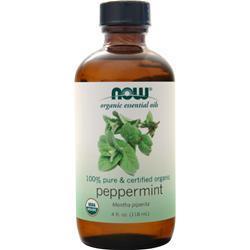 Now Certified Organic Peppermint Oil 4 fl.oz