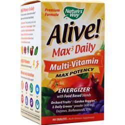 Nature's Way Alive! Max3 Daily Multi-Vitamin - Max Potency 30 tabs