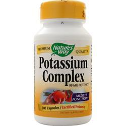 Nature's Way Potassium Complex 100 caps