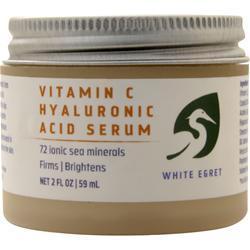 White Egret Vitamin C Hyaluronic Acid 2 fl.oz