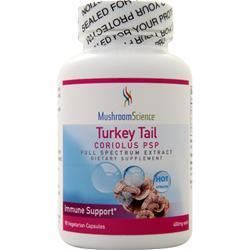 Mushroom Science Turkey Tail Coriolus PSP 90 vcaps