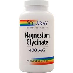 Solaray Magnesium Glycinate (400mg) 240 vcaps