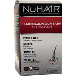 Nu Hair Hair Regrowth for Women 60 tabs