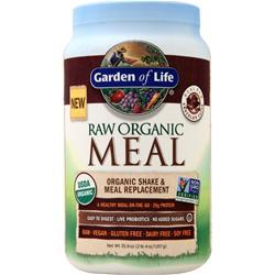 Garden Of Life Raw Meal - Organic Shake & Meal Replacement Chocolate Cocao 1017 grams