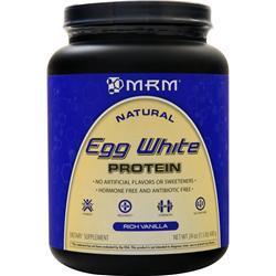 MRM Egg White Protein - All Natural Rich Vanilla 24 oz