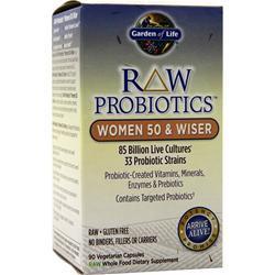 Garden Of Life Raw Probiotics - Women 50 & Wiser 90 vcaps