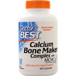 Doctor's Best Calcium Bone Maker Complex 180 caps