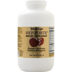 Naturally Vitamins Hep-Forte 500 sgels